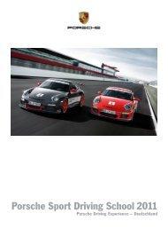 Download Porsche Driving School (PDF) - Porsche Zentrum Saarland