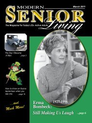 March 2011 - Modern Senior Living Magazine