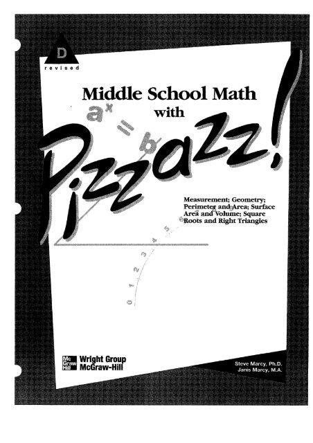 Pizzazz Book