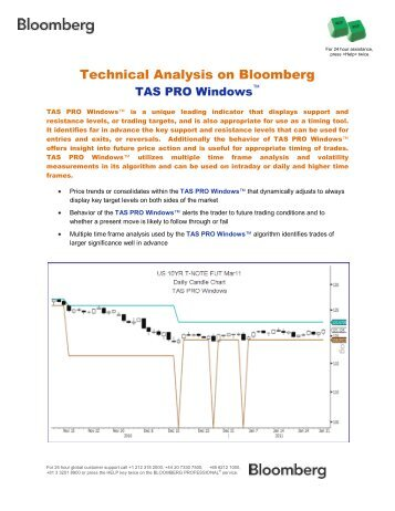Basic Bloomberg Tech Functions