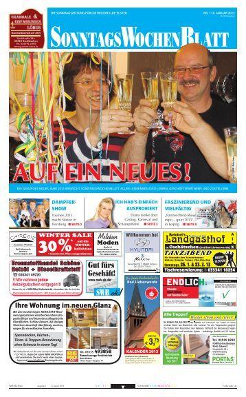 Ausgabe vom 06. 01. 2013 - beim SonntagsWochenBlatt