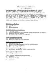 1 Polizeiverordnung der Stadt Lunzenau vom 19. September 2006 ...