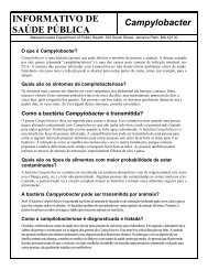 PUBLIC HEALTH FACT SHEET - Mass.Gov