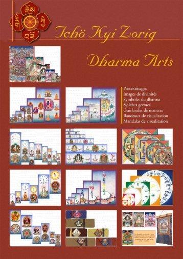 Télécharger la totalité du CATALOGUE ici - Dharma Arts