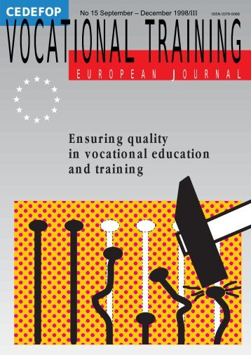 Ensuring quality in vocational education and ... - Cedefop - Europa