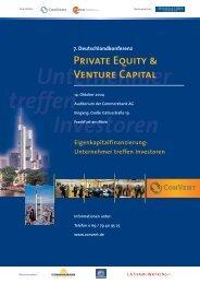 7. Deutschlandkonferenz Private Equity & Venture Capital - Convent