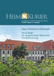 Haus Clemens in Eisenach - Unternehmensgruppe Birkholz