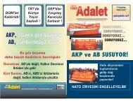 AKP ve AB SUSUYOR! - Ozgurluk.info