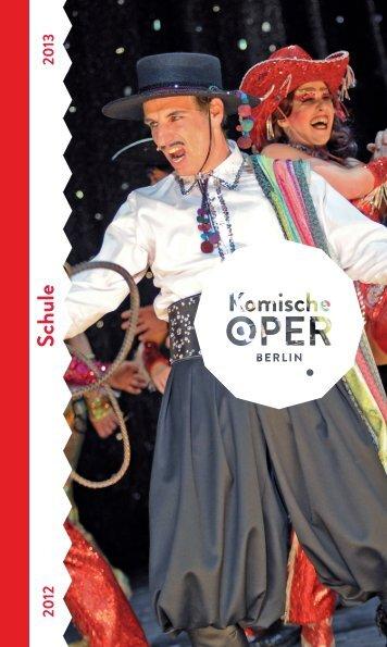 Schule - Komische Oper Berlin