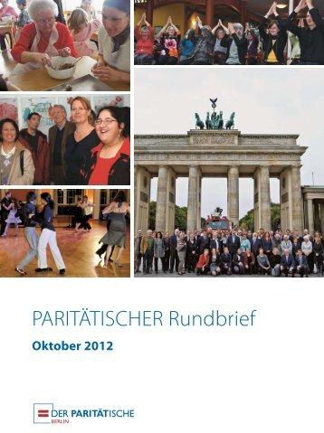 PARITÄTISCHER Rundbrief - FPZ