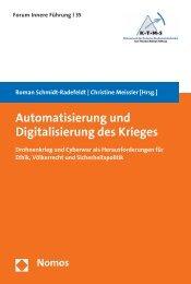 Automatisierung und Digitalisierung des Krieges - Nomos