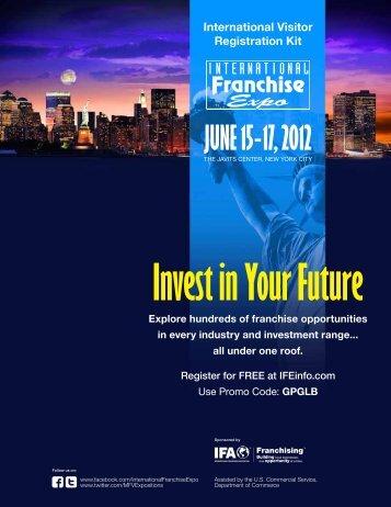 JUNE 15 - 17, 2012 - the International Franchise Expo