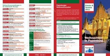 Weihnachten in Papenburg - Papenburg Tourismus