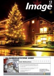 Frohe Weihnachten« - Image Magazin