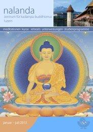 Programm 2013 als PDF - Nalanda Zentrum für Mahayana ...