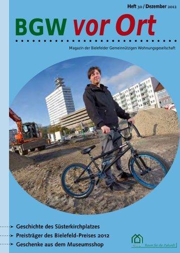 Der Bielefeld-Preis 2012 - BGW Bielefelder Gemeinnützige ...