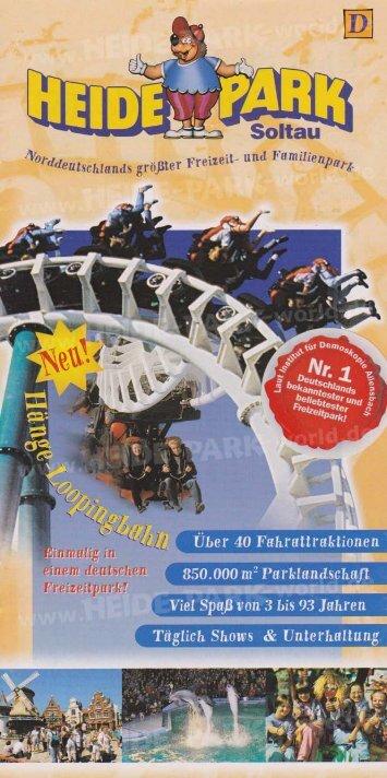Heide-Park Flyer 1999 - Heide Park World