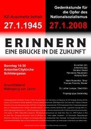 E R I N N E R N - Arbeitsgemeinschaft christlicher Kirchen
