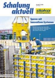Sparen mit innovativen Systemen - Doka