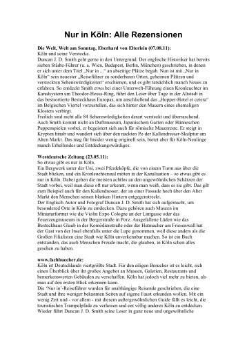 Nur in Köln: Alle Rezensionen