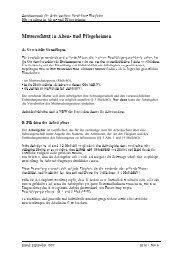 Mutterschutz in Alten- und Pflegeheimen - Konfliktfeld Pflege