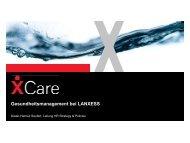 Gesundheitsmanagement bei LANXESS - pronova BKK - Come ...