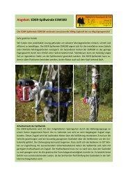Angebot: EDER-Spillwinde ESW500 - Herzog Forsttechnik