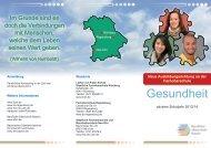 Ausbildungsrichtung Gesundheit - Berufliche Oberschule Regensburg
