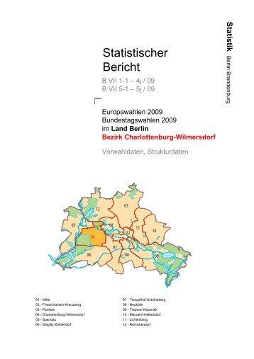 Statistischer Bericht - Die Landeswahlleiterin für Berlin