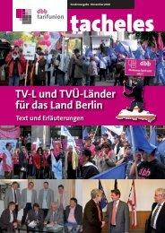 dbb tarifunion - VBE Berlin