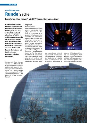 Runde Sache - Alarm- und Sicherheitstechnik Lohrer GmbH