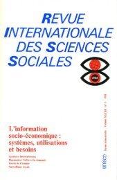 Vers un système international d'information ... - unesdoc - Unesco