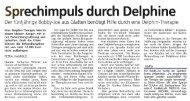 Sprechimpuls durch Delphine - LUST Blechwaren GmbH