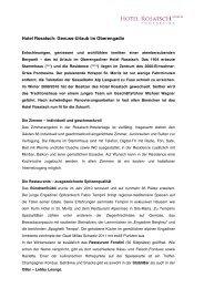 PDF 90 KB - Hotel Rosatsch