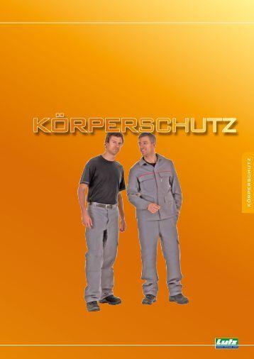 KÖRPERSCHUTZ - Eduard Lutz Schrauben-Werkzeuge GmbH