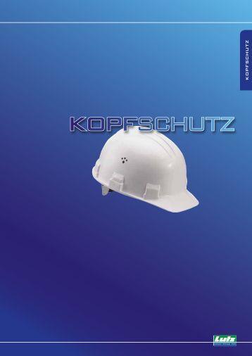 KOPFSCHUTZ - Eduard Lutz Schrauben-Werkzeuge GmbH