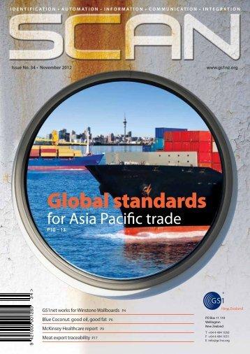 Issue 34 - November 2012 (PDF) - GS1 New Zealand