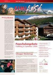 Pauschalangebote - Hotel Simi
