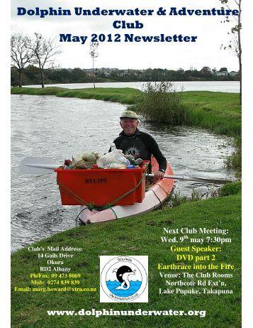 Dolphin Underwater & Adventure Club May 2012 Newsletter