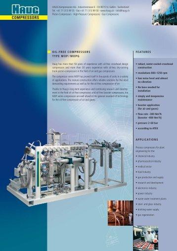 COMPRESSORS - HAUG Kompressoren AG