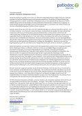 Pressemappe der patiodoc AG Stand: 1. Mai 2012 - Seite 5