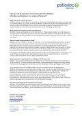 Pressemappe der patiodoc AG Stand: 1. Mai 2012 - Seite 7