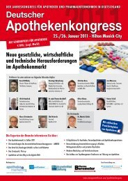 Apothekenkongress - Dr. Angerer Marketing International