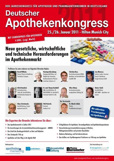 Apothekenkongress - Dr. Angerer Marketing International