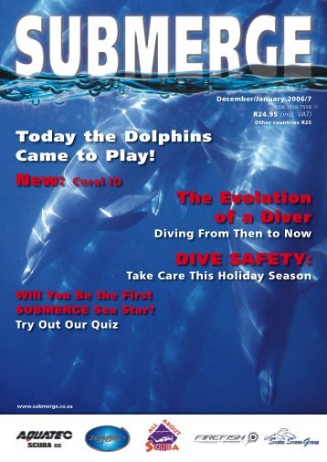 DIVE SAFETY: The Evolution of a Diver - Submerge