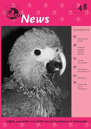 EAZA NEWS 48 - European Association of Zoos and Aquaria