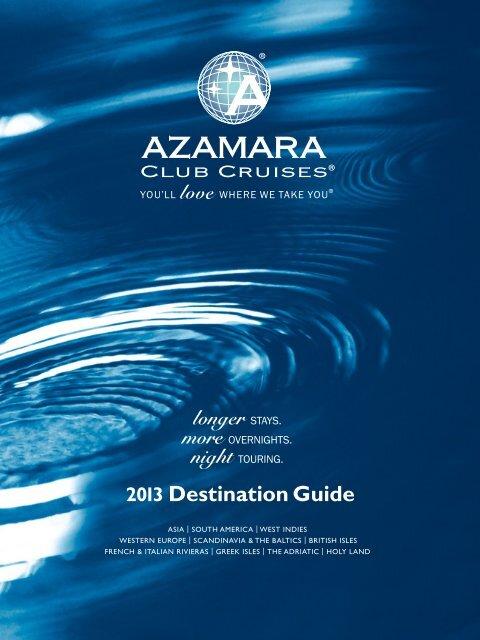 2013 Destination Guide