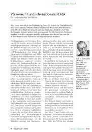 Völkerrecht und internationale Politik (PDF ... - IP - Die Zeitschrift