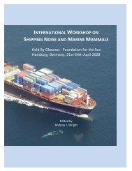 Hamburg Shipping Report 2008 - Okeanos - Foundation for the Sea