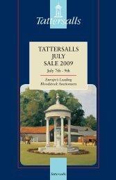 Tattersalls July Sale 2009